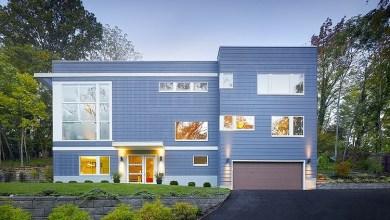 Photo of Modern, háromszintes lakóház Cincinnatiból
