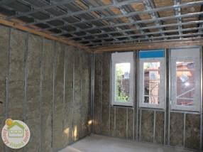 EnergyFriendHome acélszerkezetes ház belső fényképe.