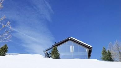 Photo of Hegyi ház előregyártott elemekből az Alpokban