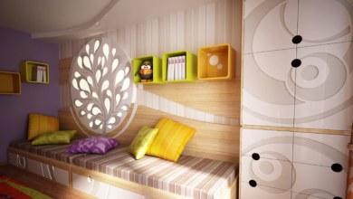 Photo of Egy eredeti gyermekhálószoba design, élénk színekkel és textúrákkal