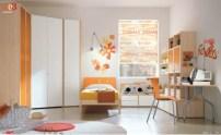 Orange-and-white-bedroom-582x360