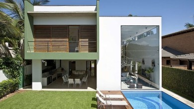 Photo of Példa az erőteljes geometrikus építészetre: Acapulco House