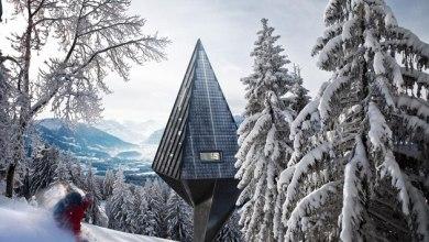 Photo of Önfenntartó erdei ház, amit a fák ihlettek