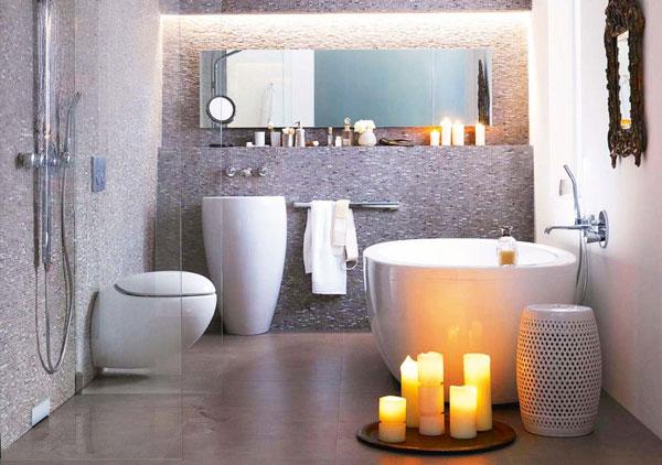 30 ötlet kicsi és funkcionális fürdőszobák kialakításához ...