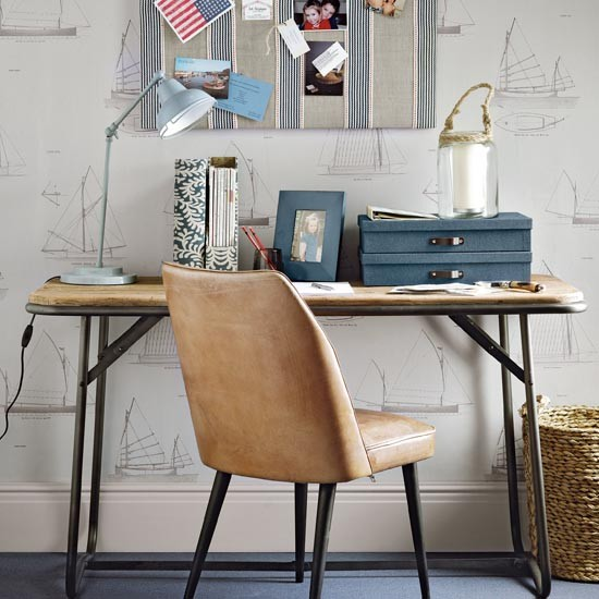 Nautical-look-study-area-for-a-teen-boy-ideal-home-housetohome.co.uk