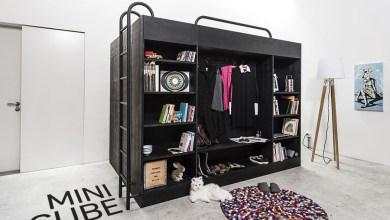 Photo of Kompakt, multi-funkcionális bútor