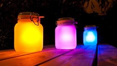 Photo of Napelemes lámpák házilag