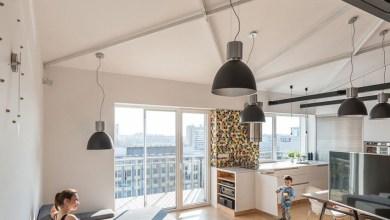 Photo of Ipari stílusú lakás egy kis melegséggel