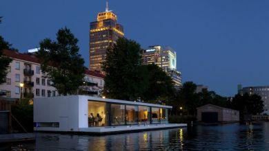 Photo of Úszó ház Amszterdamban