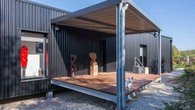 Photo of Modern konténer-ház Franciaországban