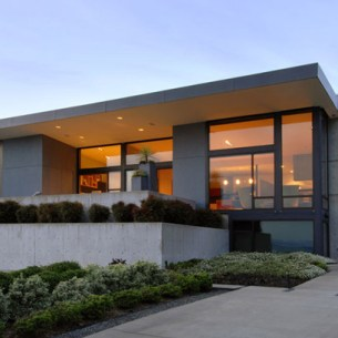 Minimál, modern ház