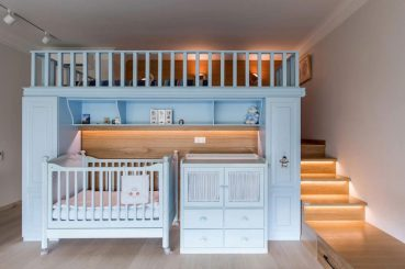 Baby-crib-station-and-bedroom-platform