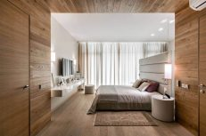 Master-bedroom-with-wooden-detailing