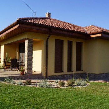 Mediterrán, modern ház
