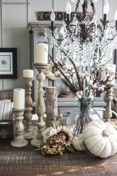 Fall-Faux-Pumpkins-with-Crystal-Knobs