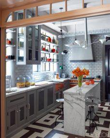 Industrial-grey-kitchen-with-orange-accents-900x1125