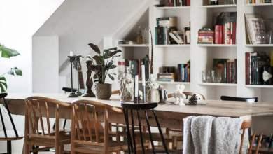 Photo of Tetőtéri lakás Stockholmban