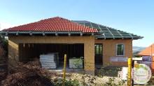Családi ház építés közben