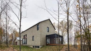 Photo of Kortárs ház az erdő mélyén