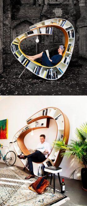 unique-spiral-bookcase-reading-space-600x1410