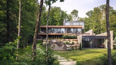 Photo of Kanadai otthon harmóniában a természettel