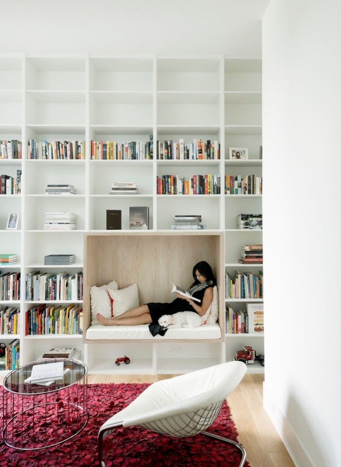 Concrete-Box-House-has-built-in-reading-nook