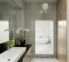 Concrete-Box-House-with-a-zenn-bathroom