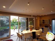Balatonöszödi családi ház - nappali