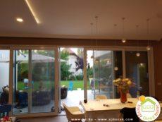 Balatonöszödi családi ház - a nappali