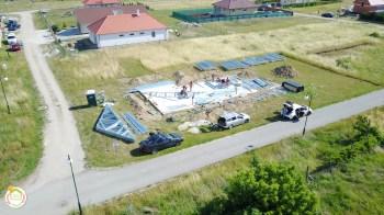 Könnyűszerkezetes családi ház építés Alsóörsön