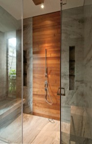 Gray-shower-tiles-with-wood-accents