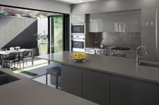 Southern-California-House-featuring-a-modern-Grey-Kitchen