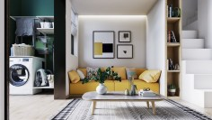 Yellow-sofa