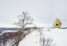 Photo of Tojás formájú szauna Svédországban