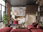 red-and-wood-decor