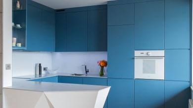 Photo of Gyönyörű kék konyhák