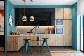 Teal-kitchen-decor