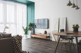 Turquoise-white-decor