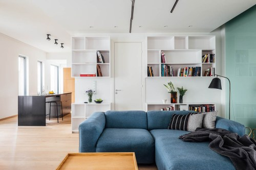 Blue-sectional-sofa
