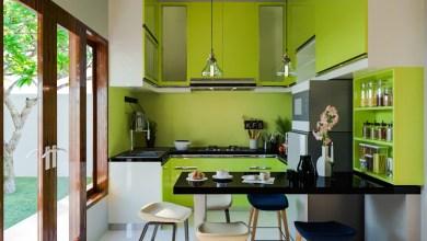 Photo of Gyönyörű zöld konyhák