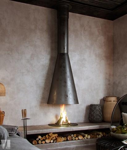 Modern-rustic-fireplace