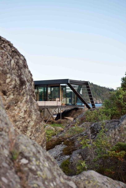Norwegian-Vestfold-County-Cabin-View