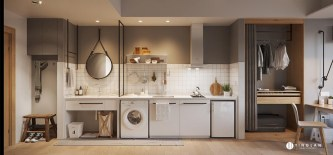 single-wall-kitchen
