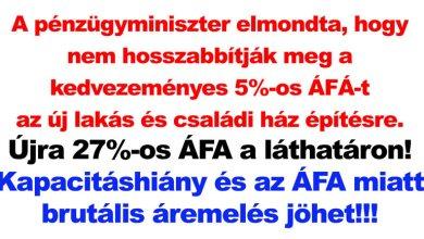 Photo of Brutális, legalább 25%-os lakás és családi ház áremelés jön a magyar piacon