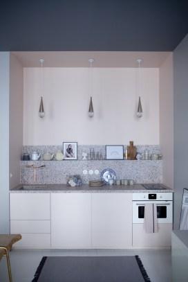 Light-pink-one-wall-kitchen