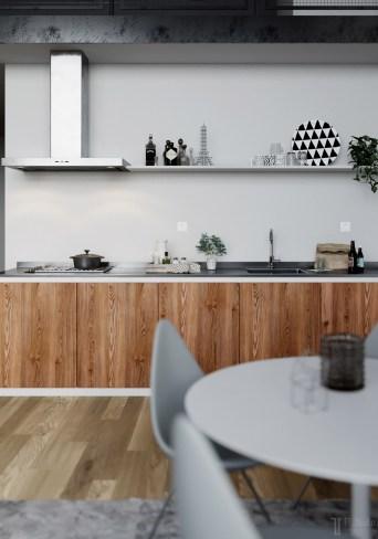 Wood-Scandi-kitchen