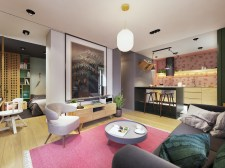 pink-and-green-apartment-with-light-wood-floors