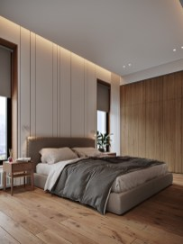 Fabric-platform-bed