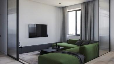 Photo of Zöld és rózsaszín egy lakásban