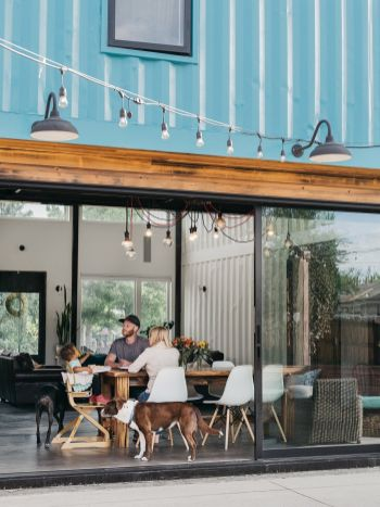Shipping-Container-Home-large-sliding-windows